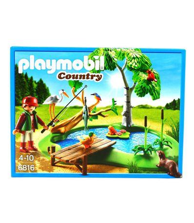 Playmobil-Ilot-avec-pecheur-et-animaux