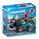 Playmobil-Voleurs-avec-Quad-et-Butin