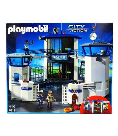 Playmobil-Comissariat-de-Police-avec-Prison
