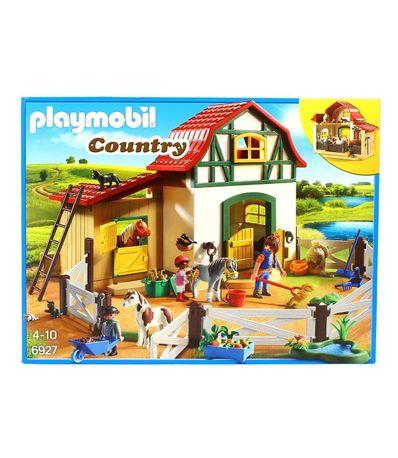 Playmobil-Poney-club