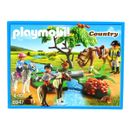 Playmobil-Cavaliers-avec-poneys-et-cheval