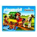 Playmobil-Enfants-avec-chariot-et-poney