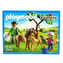 Playmobil-Veterinaire-avec-enfant-et-poneys