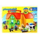 Playmobil-123-Ferme-Transportable-avec-Animaux