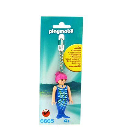 Playmobil-Porte-cles-Sirene