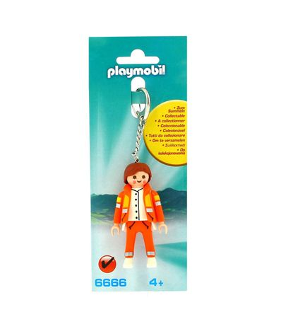 Playmobil-Porte-cles-Service-d-urgence