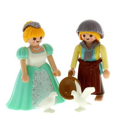 Playmobil-Pack-Princesse-et-Fermiere