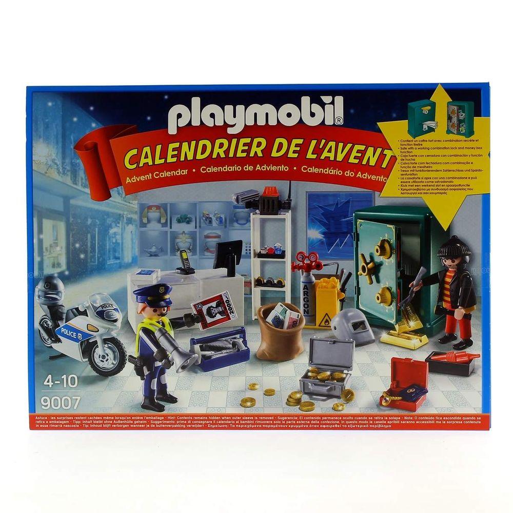 Playmobil Calendrier.Playmobil Calendrier De L Avent Vol De Bijouterie