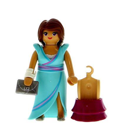 Playmobil-Femme-avec-robe-de-nuit