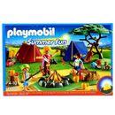 Playmobil-Campement-Ete-avec-Feu-Led