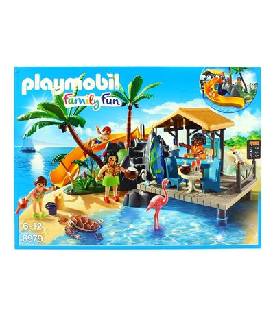 Playmobil-Ile-avec-vacanciers