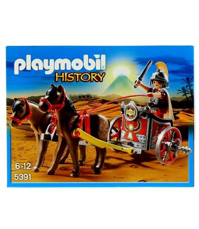 Playmobil-Quadrige-Romain