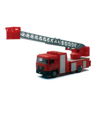 Camion-pompiers-avec-escalier-Echelle-1-43