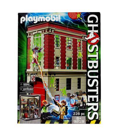 Playmobil-Quartier-General-Ghostbusters