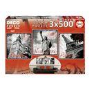 Puzzle-3x500-Grandes-Villes