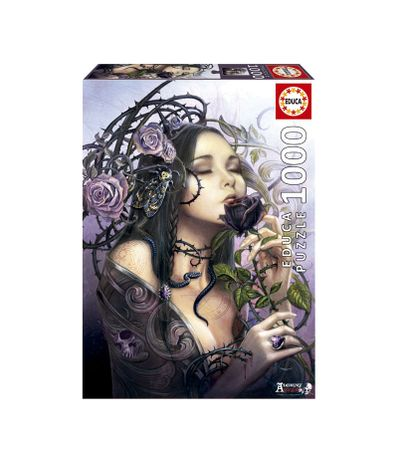 Puzzle-1000-Pieces-La-Rose-de-Minuit