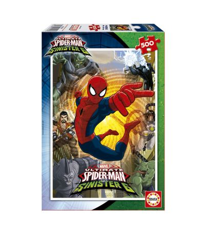 Spiderman-Puzzle-500-Pieces