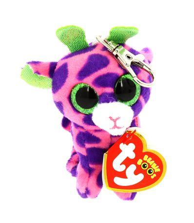 Beanie-Boo---Porte-cles-peluche-girafe-de-10-cm