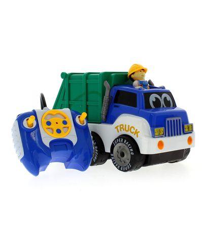 Camion-enfant-avec-poupee-RC