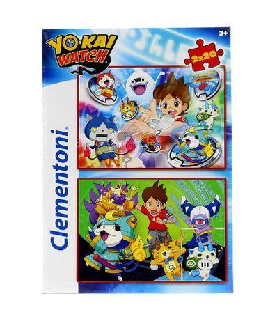 Yo-Kai-Watch-Puzzles-2-x-20-Pieces