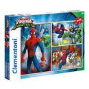 Spiderman-VS-6-Ennemis-Puzzle-3-x-48-Pieces