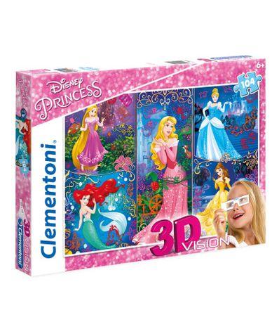 Princesses-Puzzle-3D-de-104-pieces