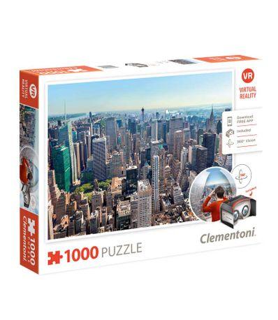 Puzzle-de-New-York-VR-de-1000-Pieces