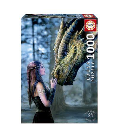 Puzzle-Once-upon-a-time-de-1000-pieces