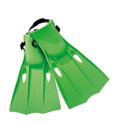 Palmes-de-plongee-vert
