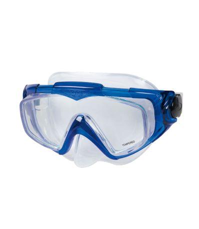 lunettes-de-plongee-en-silicone-bleu