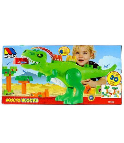 Dinosaure-avec-30-Blocs