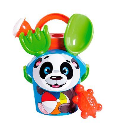 Panda-Ours-plage-Set