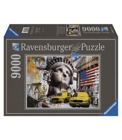 Puzzle-Prints-New-York-City-9000-Pieces
