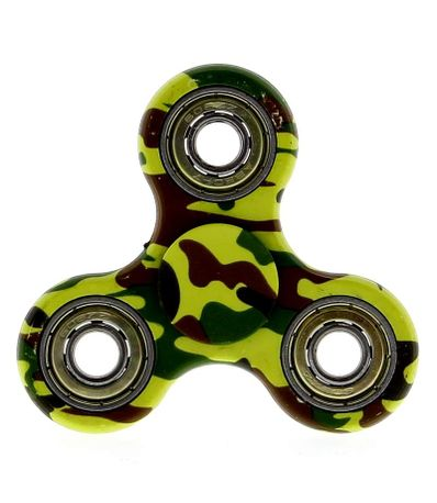 Krazy-Spinner-Camouflage-Vert