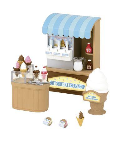 Sylvanian-Ice-Cream-Shop