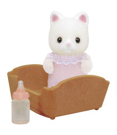 Figure-Sylvanian-bebe-Cat-soie