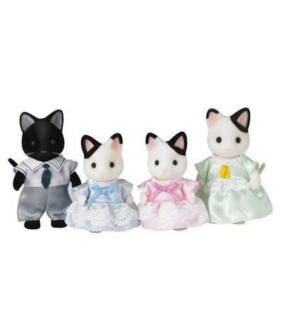 Sylvanian-chats-famille-Emosquin