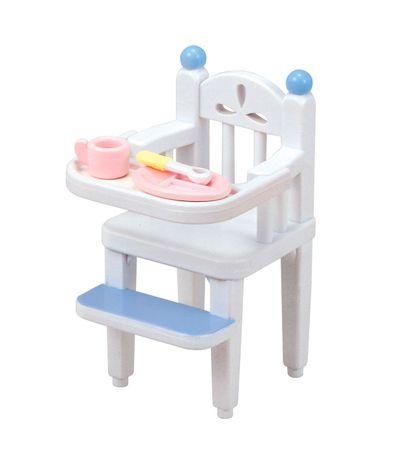 Sylvanian-Chaise-haute-bebe