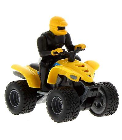 Moto-Quad-Amarillo