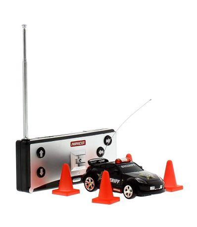 Mini-voiture-RC-Noir-Flash-Light