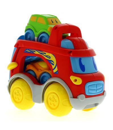 Camion-avec-deux-voitures
