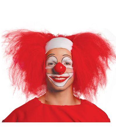 Perruque-de-clown-chauve-cheveux-rouge
