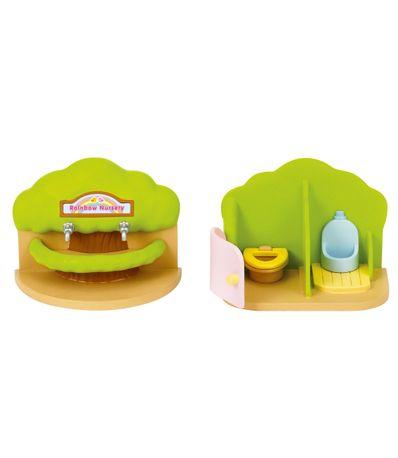 Sylvanian-bain-Nursery