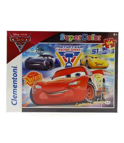 Cars-3-Puzzle-de-104-Pieces