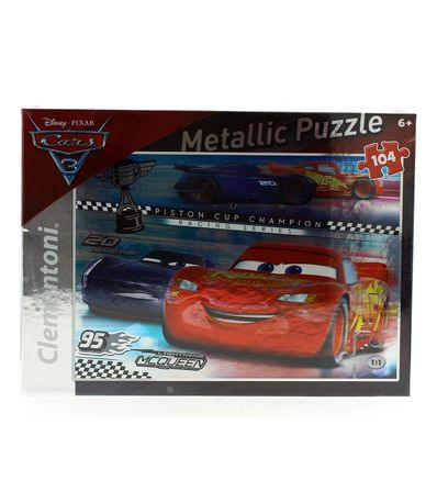 Cars-3-Puzzle-Metallique-de-104-Pieces