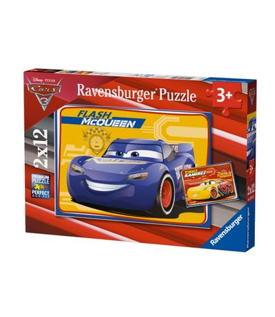 Cars-3-Puzzles-2x12-pieces