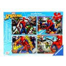 Spiderman-Pack-4-Puzzles-de-100-Pieces