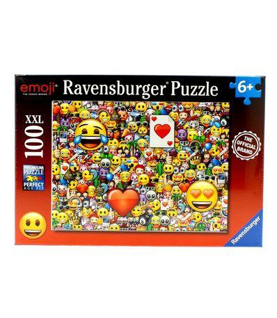 Emoji-Puzzle-XXL-de-100-Pieces