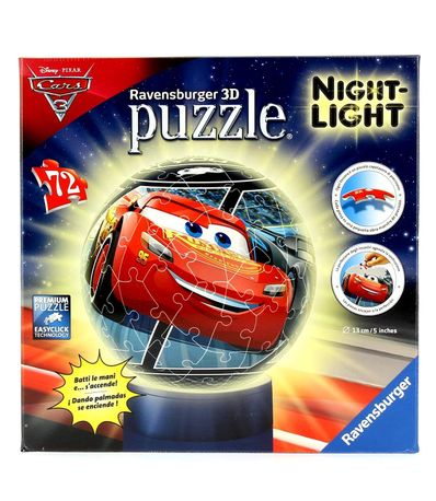 Cars-3-Puzzle-Lampe-de-72-Pieces