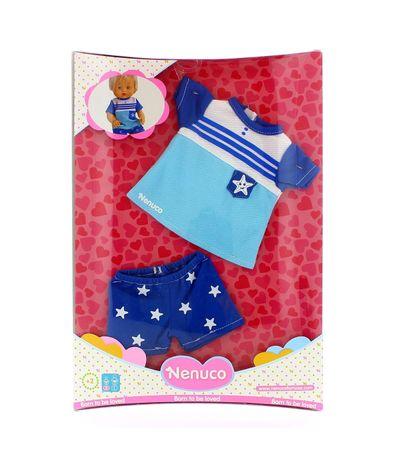 Nenuco-Vetements-Costume-Bleu